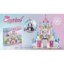 Xingbao XB-12019 Disney Princess Castal Peincess:Peincess Castle Xếp Hình Lâu đài Của Công Chúa Peincess 540 Khối