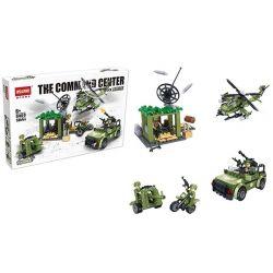 Hsanhe 6460 Military Army The Command Center Xếp hình Trung Tâm Chỉ Huy 535 khối