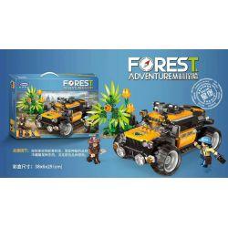 Xingbao XB-15002 (NOT Lego Forest Adventure ) Xếp hình Cuộc Phiêu Lưu Khám Phá Rừng Nhiệt Đới 525 khối
