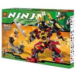 Lele 79113 Bela 9775 Ninjago Movie 9448 Samurai Mech Xếp Hình Chiến Binh Samurai 452 Khối