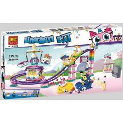 Bela 11020 (NOT Lego Unikitty 41456 Unikingdom Fairground Fun ) Xếp hình Khu Vui Chơi Unikingdom 515 khối
