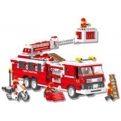 Wange 33021N City Firefighters Xếp hình Đội Lính Cứu Hỏa 567 khối