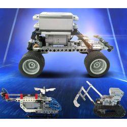 Kazi KJ30095 Mindstorms KS1 Xếp Hình động Cơ Pin 548 Khối