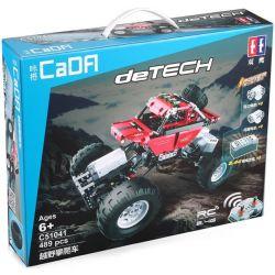 Doublee Cada C51041 C51041W Technic Off-Road Climbing Car Xếp hình Xe Địa Hình Off-Road Có Điều Khiển 489 khối