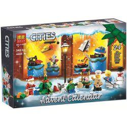 Bela 11012 City 60201 City Advent Calendar Xếp hình Lịch Đếm Ngược Tới Giáng Sinh Độc Đáo 313 khối