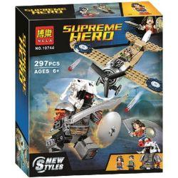 Bela 10744 (NOT Lego DC Comics Super Heroes 76075 Wonder Woman Warrior Battle ) Xếp hình Trận Chiến Của Wonder Woman 286 khối