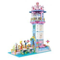 Winner 5016 Disney Princess Mermaid Xếp hình Ngọn Hải Đăng 743 khối