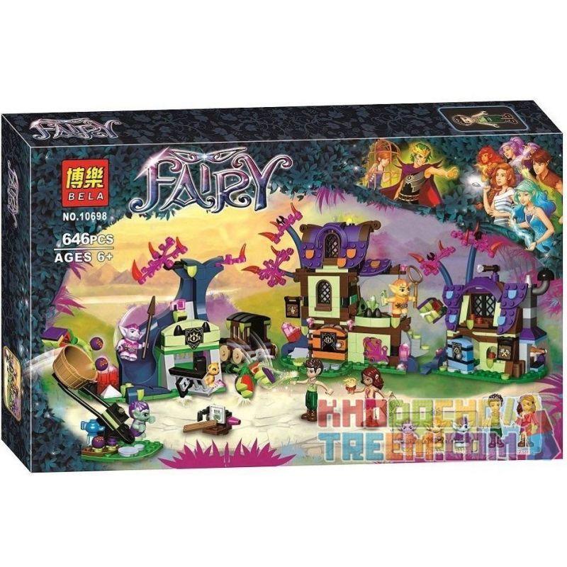 Bela 10698 Elves 41185 Magic Rescue From The Goblin Village Xếp hình Giải Cứu Phép Thuật Ở Làng Người Lùn 637 khối