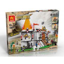 Wange 49033N Empire Castle Attack The Castle Xếp hình Tấn Công Lâu Đài 289 khối