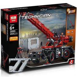 Lepin 20085 Technic 42082 Rough Terrain Crane Xếp hình Xe Cần Cẩu Hạng Nặng 4057 khối
