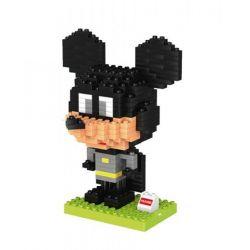 Huimei HM201 Duplo Batman Mickey Xếp hình Chuột Mickey Trong Bộ Áo Người Dơi 278 khối