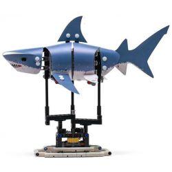 Lepin 20090 Sheng Yuan 7006D Forma 81001 Shark Skin Xếp hình Cá Mập Động Cơ Pin 342 khối