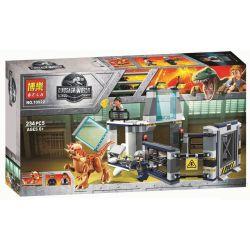 Bela 10922 Lele 39112 (NOT Lego Jurassic World 75927 Stygimoloch Breakout ) Xếp hình Cuộc Trốn Thoát Của Khủng Long Chim 222 khối