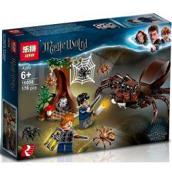 Lepin 16058 Bela 11003 Lele 39150 Harry Potter 75950 Aragog's Lair Xếp hình Triệt Hạ Nhện Khổng Lồ 157 khối
