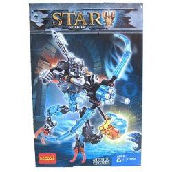 Decool 10704 Bionicle 70791 Skull Warrior Xếp hình Chiến Binh Xương 102 khối