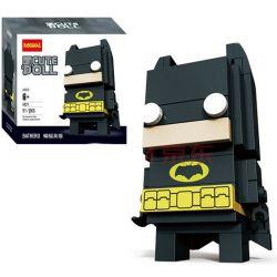 Lepin 43019 Decool 6821 Bela 10762 (NOT Lego BrickHeadz 41585 Batman ) Xếp hình Người Dơi 91 khối