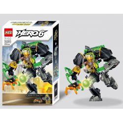 Decool 10503 XSZ KSZ 307-3 (NOT Lego Hero Factory 44019 Rocka Stealth Machine ) Xếp hình Cỗ Máy Giết Chóc 89 khối