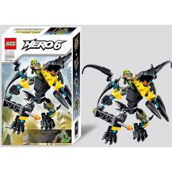 Decool 10504 XSZ KSZ 307-2 (NOT Lego Hero Factory 44020 Flyer Beast Vs. Breez ) Xếp hình Trận Chiến Với Quái Vật 91 khối