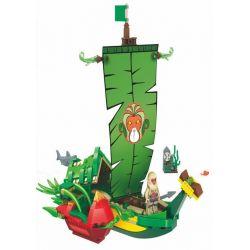 Winner 5043 (NOT Lego Fantasy Westward Journey Wukong Fantasy Westward Journey ) Xếp hình Thuyền Lá Của Hầu Vương 321 khối