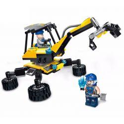 Enlighten 2404 Kyanite Squad Rock Sweeper Xếp hình Xe Gắp Đá 149 khối
