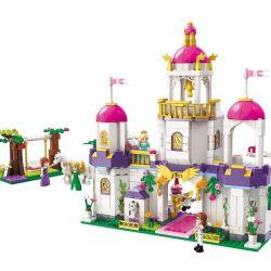 Enlighten 2610 Disney Princess Leah's Brithday Party Xếp hình Bữa Tiệc Sinh Nhật Của Công Chúa Leah 592 khối
