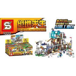 Sheng Yuan 1222 (NOT Lego Battle Royale ) Xếp hình Cuộc Chiến Trong Khu Công Nghiệp gồm 8 hộp nhỏ 960 khối