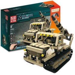 Mouldking 13012 Technic Armour Alliance Xếp hình Xe Bọc Thép Trang Bị Tên Lửa Theo Dõi Có Điều Khiển Từ Xa 606 khối
