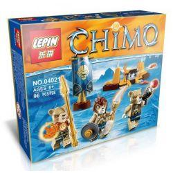 Lepin 04021 Lele 78088A Elephan JX70001A (NOT Lego Legends of Chima 70229 Lion Tribe Pack ) Xếp hình Bộ Lạc Sư Tử Quý Hiếm 78 khối