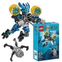 XSZ KSZ 706-3 KSZ706-3 Bionicle Protector Of Water Xếp hình Người Máy Bắn Súng gồm 2 hộp nhỏ 71 khối