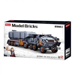 Sluban M38-B0787 (NOT Lego The Wandering Earth Earthtruck ) Xếp hình Xe Tải Hạng Nặng 826 khối