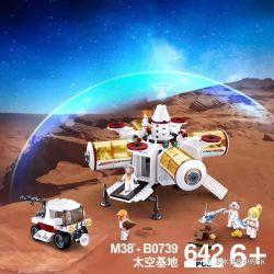 Sluban M38-B0739 (NOT Lego City Space ) Xếp hình Thám Hiểm Hành Tinh Lạ 642 khối