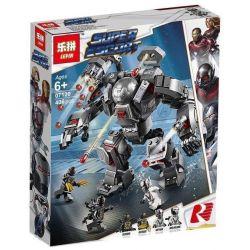 Lepin 07120 Sheng Yuan 1331 SY1331 Bela 11259 Xinh 9003 (NOT Lego Marvel Super Heroes 76124 War Machine Buster ) Xếp hình Bộ Giáp War Machine Buster 406 khối