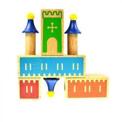 Jun Da Long Toys Jdlt 7511A Duplo Iq Castle Blocks Xếp hình Bộ Xếp Hình Iq Lâu Đài 1570 khối