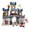Lego Duplo 4864 Hystoys HG-1312 Castle Xếp hình Đánh chiếm lâu đài trung cổ 2 tầng 82 khối