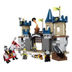 Lego Duplo 4864 Hystoys HG-1314 Castle Xếp hình lâu đài trung cổ 125 khối