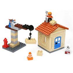 Lego Duplo 10518 Hystoys HG-1333 My First Construction Site Xếp hình công trường xây dựng nhỏ 36 khối