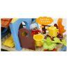Lego Duplo 5639 Hystoys HG-1423 Family House Xếp hình nhà bà ngoại 53 khối