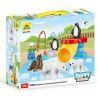 Hystoys Hongyuansheng Aoleduotoys HG-1492 (NOT Lego Duplo 5633 Polar Zoo ) Xếp hình Vườn Bách Thú Bắc Cực Tí Hon 32 khối