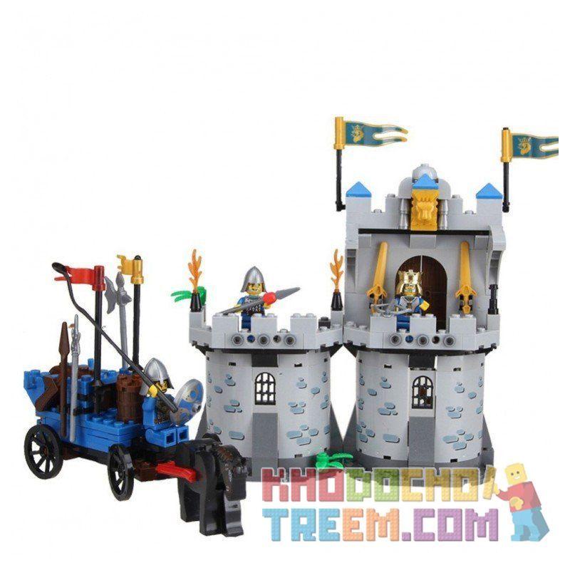 Lego Castle 70404 Enlighten 1020 King's Castle Xếp hình phòng thủ lâu đài nhà vua 267 khối