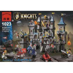 Enlighten 1023 (NOT Lego Castle Castle Knights ) Xếp hình Bao Vây Lâu Đài Nhà Vua 1842 khối