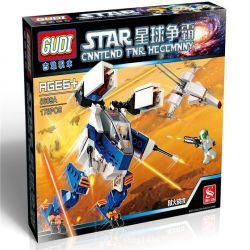 Gudi 8609A Star Wars Hellfire Xếp Hình Rô Bột Bộ Binh Tác Chiến Cùng Phi Thuyền Tự động Và Bộ Binh 178 Khối