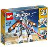 Lego Transformers Gudi 8711 Bumblebee Xếp hình rô bốt biến hình xe ô tô Chevrolet Camaro vàng 221 khối