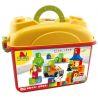 Hystoys Hongyuansheng Aoleduotoys HG-1460 (NOT Lego Duplo 6051 Letters ) Xếp hình Học Tập Với Bảng Chữ Cái 62 khối