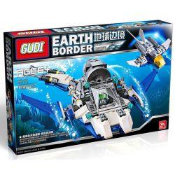 Xinlexin Gudi 8212 (NOT Lego Star wars The Blue Sea Way ) Xếp hình Tàu Lặn Biển 180 khối