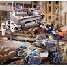 Gudi 8216 Star Wars Earth Border The Core Of Defense Xếp hình trung tâm phòng vệ 530 khối