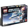 Xinlexin Gudi 8606 (NOT Lego Star wars Blue Serene Fighter ) Xếp hình Phi Thuyền Chiến Đấu Không Người Lái Màu Xanh 82 khối