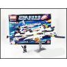 Xinlexin Gudi 8614 (NOT Lego Star wars The White Lion Fighter ) Xếp hình Phi Thuyền Chiến Đấu Sư Tử Trắng 281 khối