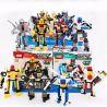 Xinlexin Gudi 8707 Creator 8 In 1 Transformers War 8 In 1 Xếp Hình đại Chiến Robot Biến Hình 8 Trong 1 578 Khối