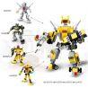 Gudi 8707 8 Creator 8 in 1 transformers war 8 in 1 Xếp hình đại chiến robot biến hình 8 trong 1 578 khối