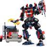 Xinlexin Gudi 8713 (NOT Lego Transformers Optimus Prime ) Xếp hình Thủ Lĩnh Tối Cao Autobot Robot Biến Hình Xe Đầu Kéo Peterbilt 377 khối